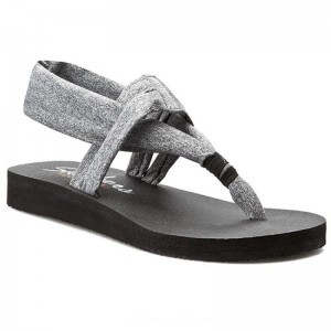 [BLACK FRIDAY] Skechers Sandalen Studio Kicks 38615/GRY Gray
