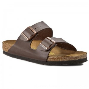 Birkenstock Pantoletten Arizona 0051701 Dark Brown [Outlet]