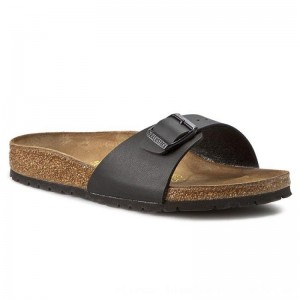 Birkenstock Pantoletten Madrid 0040793 Black [Outlet]