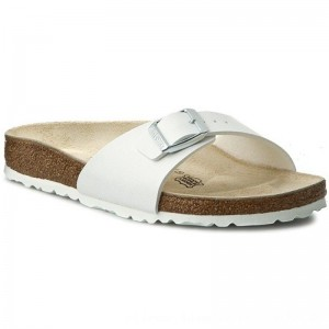 Birkenstock Pantoletten Madrid 0040733 White [Outlet]