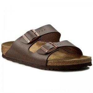 Birkenstock Pantoletten Arizona 0051703 Dark Brown [Outlet]