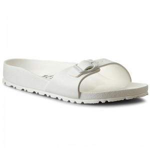 Birkenstock Pantoletten Madrid 0128183 White [Outlet]