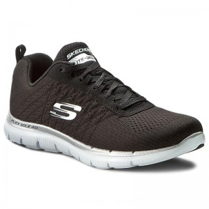 [BLACK FRIDAY] Skechers Schuhe Break Free 12757/BKW Black/White