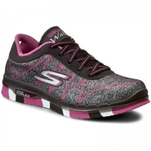 [BLACK FRIDAY] Skechers Schuhe Ability 81082L/BKHP Black/Hot Pink