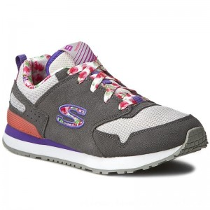 Skechers Sneakers Floral Fancies 84201L/GYMT Gray/Mt [Outlet]