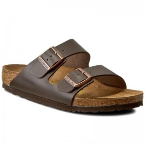 [BLACK FRIDAY] Birkenstock Pantoletten Arizona 051101 Dunkelbraun