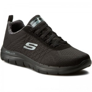 Skechers Schuhe The Happs 52185/BBK Black [Outlet]