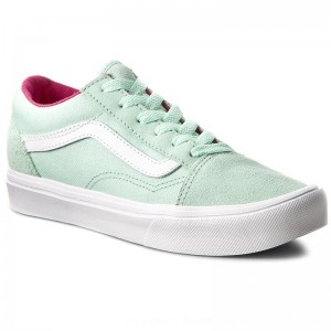 Vans Turnschuhe Old Skool Lite VN0A38HCN0U (Pop) Bay/True White [Outlet]