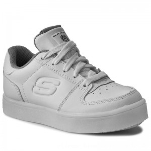 Skechers Sneakers Energy Lights 90601L/WHT White [Outlet]