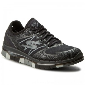 Skechers Schuhe Momentum 14017/BKGY Black/Gray [Outlet]