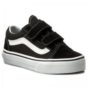 Vans Halbschuhe Old Skool V VN000VHE6BT Black/True White [Outlet]