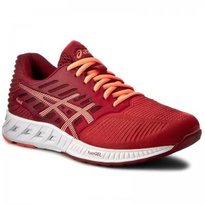 Asics Schuhe FuzeX T689N Ot Red/Flash Coral/True Red 2306 [Outlet]