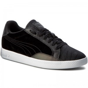 Puma Sneakers Match Swan Wn's 363175 01 Black/Puma Black [Outlet]
