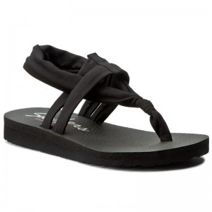 Skechers Sandalen Studio Kicks 38615/BLK Black [Outlet]