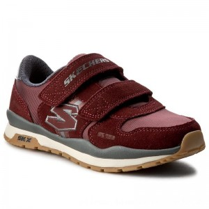 Skechers Halbschuhe Throwbax 97360L/BURG Burgundy [Outlet]