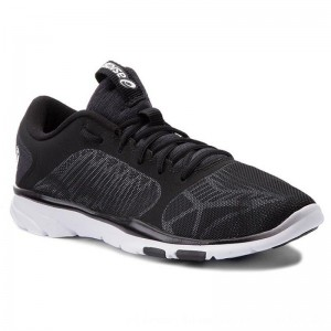 Asics Schuhe Gel-Fit Tempo 3 S752N Black/Silver/White 9093 [Outlet]