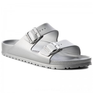 [BLACK FRIDAY] Birkenstock Pantoletten Arizona 1003491 Silver