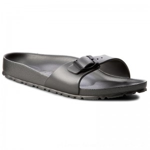 Birkenstock Pantoletten Madrid 1001502 Anthracite [Outlet]