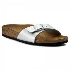 [BLACK FRIDAY] Birkenstock Pantoletten Madrid 0040413 Silver