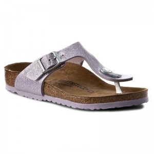 Birkenstock Zehentrenner Gizeh Kids 1003239 Magic Galaxy Lavender [Outlet]