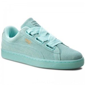 Puma Sneakers Suede Heart Reset Wn's 363229 01 Aruba Blue/Aruba Blue [Outlet]