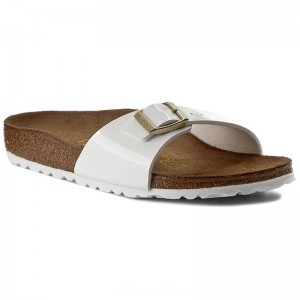 Birkenstock Pantoletten Madrid 1005310 White [Outlet]