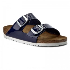 Birkenstock Pantoletten Arizona 1005296 Dress Blue [Outlet]