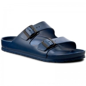 Birkenstock Pantoletten Arizona 0129431 Navy [Outlet]