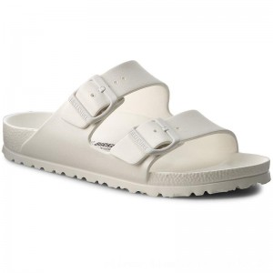 Birkenstock Pantoletten Arizona 0129443 White [Outlet]
