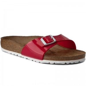 Birkenstock Pantoletten Madrid 1005308 Tango Red Patent [Outlet]