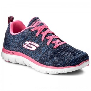 Skechers Schuhe High Energy 12756/NVHP Navy/Hot Pink [Outlet]