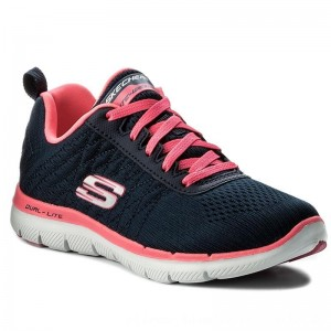 Skechers Schuhe Break Free 12757/NVHP Navy/Hot Pink [Outlet]