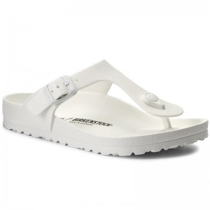 [BLACK FRIDAY] Birkenstock Zehentrenner Gizeh 0128221 White