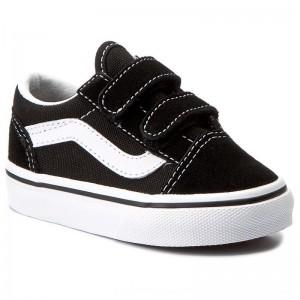 Vans Halbschuhe Old Skool V VN000D3YBLK Black [Sale]