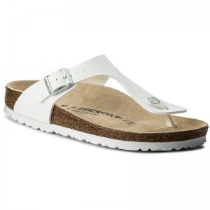 [BLACK FRIDAY] Birkenstock Zehentrenner Gizeh 0043733 White