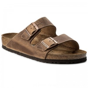 Birkenstock Pantoletten Arizona 0352201 Tabacco Brown [Outlet]