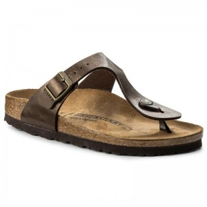 Birkenstock Zehentrenner Gizeh Bs 0845223 Graceful Toffee [Outlet]