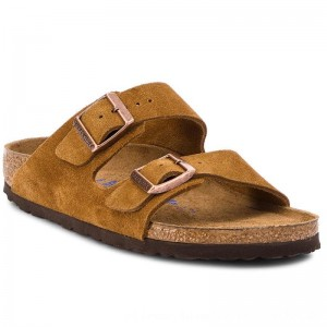 Birkenstock Pantoletten Arizona Bs 1009527 Mink [Outlet]