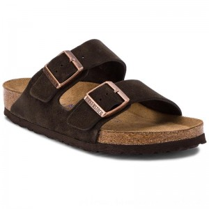 Birkenstock Pantoletten Arizona Bs 0951311 Mocha [Outlet]