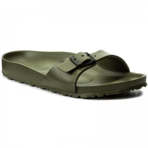 [BLACK FRIDAY] Birkenstock Pantoletten Madrid 0128253 Khaki