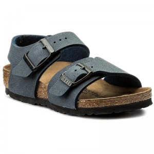 Birkenstock Sandalen New York Kids Bs 0087773 Navy [Outlet]
