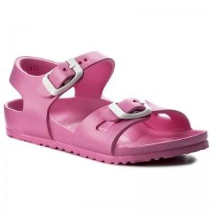Birkenstock Sandalen Rio 0126163 Neon Pink [Outlet]