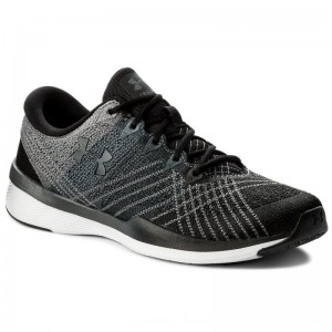 Under Armour Schuhe Ua W Threadborne Push Tr 1296206-001 Blk/Stl/Sty [Outlet]