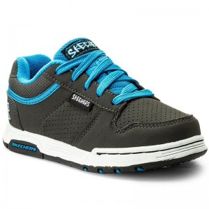 Skechers Sneakers Skate Game 998058L/CCLB Charcoal/Lt Blue [Outlet]