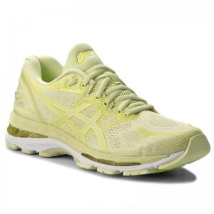 Asics Schuhe Gel-Nimbus 20 T850N Limelight/Limelight/Safety Yellow 8585 [Outlet]