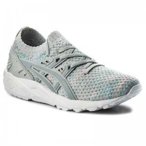 Asics Sneakers TIGER Gel-Kayano Trainer Knit HN7M4 Glacier Grey/Mid Grey 9696 [Outlet]