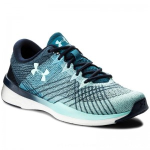 Under Armour Schuhe Ua W Threadborne Push Tr 1296206-410 Mdn/Byu/Bif [Outlet]