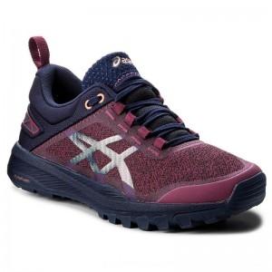 Asics Schuhe Gecko Xt T876N Baton Rouge/Indigo Blue/Begonia Pink 3249 [Outlet]
