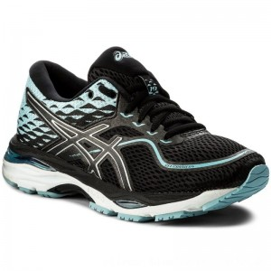Asics Schuhe Gel-Cumulus 19 T7B8N Black/Porcelain Blue/White 9014 [Outlet]