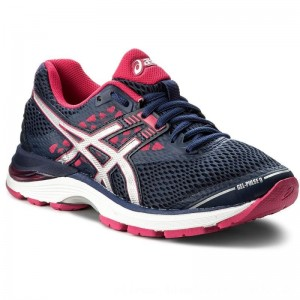 Asics Schuhe Gel-Pulse 9 T7D8N Indigo Blue/Silver/Bright Rose 4993 [Outlet]